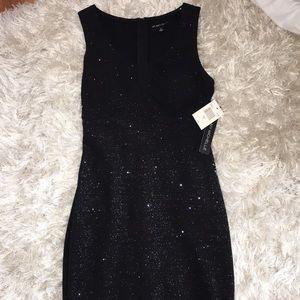 Sparkly black dress  NEVER WORN W TAGS